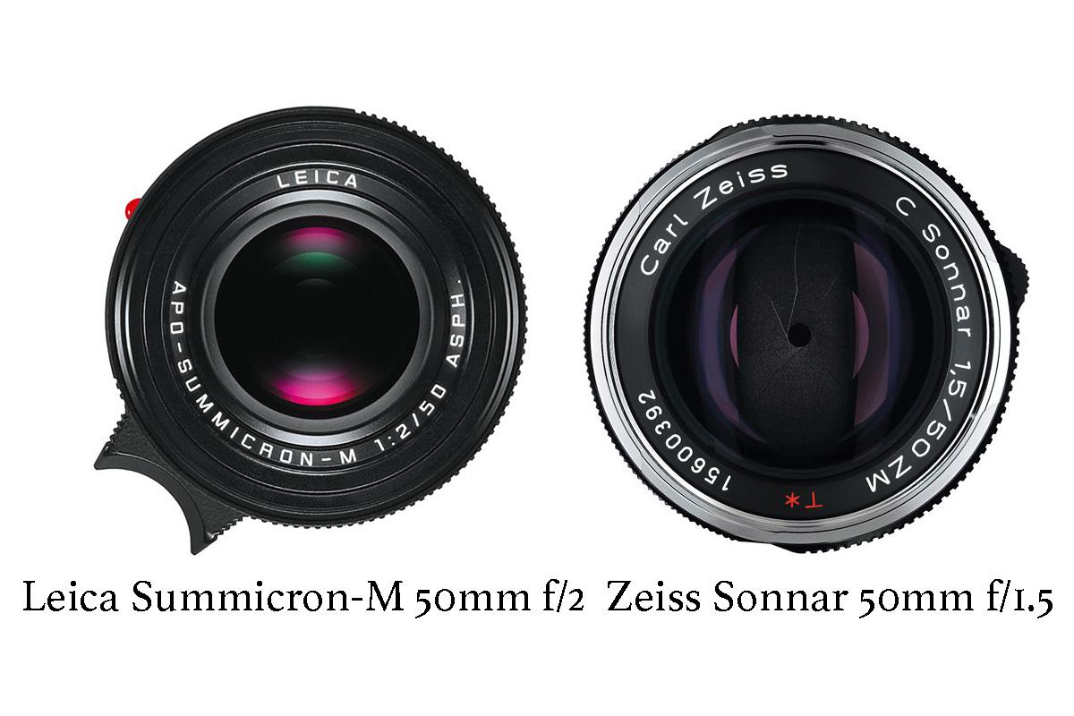 Leica Summicron 50mm f/2.0 APO lens - Review - Leica Summicron 50mm f/2.0 APO lens vs. Zeiss Sonnar 50mm f/1.5 lens - Leica Lens Expert Oz Yilmaz